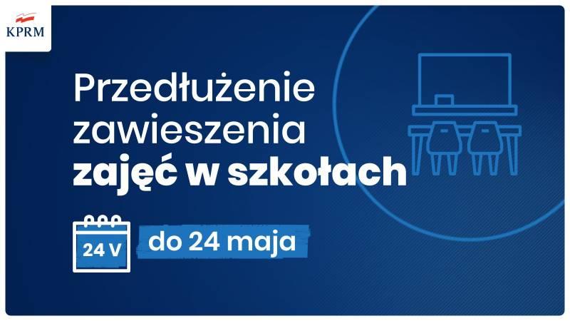 Szkoły zamknięte do 24 maja! Znamy daty matur Ciechanów ...